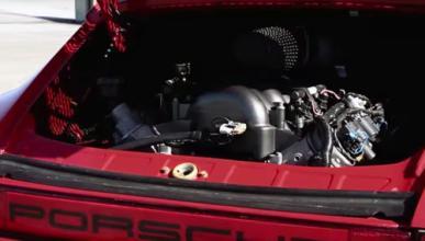 Porsche 911 RSRS: un 911 con motor de Corvette