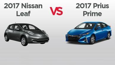 Comparativa técnica: Nissan Leaf vs Toyota Prius Prime