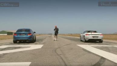 Vídeo: BMW M2 contra Porsche 718 Boxster S en un drag race