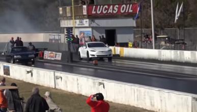 Vídeo: el Tesla Model S P100D es ahora todavía más rápido