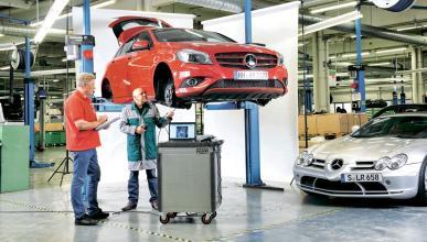 Test 200.000 km  Mercedes Clase A taller