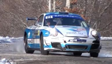 Vídeo: Romain Dumas, a fondo sobre la nieve en Montecarlo