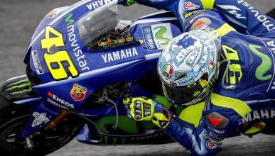 "Valentino Rossi: ""No he podido estar al 100% hoy"""