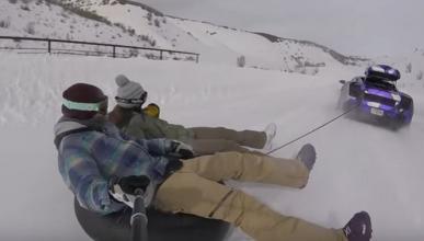 Vídeo: ¿Un Lamborghini Gallardo para esquiar?