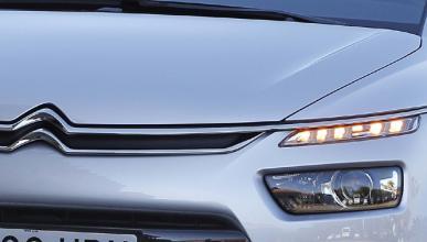 Nuevo Citroën C3 Picasso 2017, ¡primera imagen del frontal!