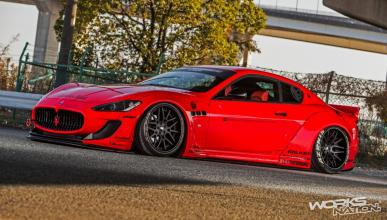 Maserati GranTurismo by Liberty Walk