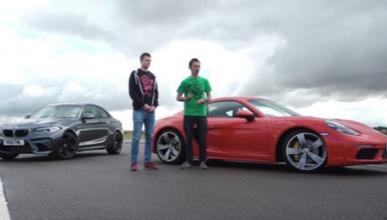 BMW M2 VS Porsche Cayman S, ¿cuál es el más divertido?
