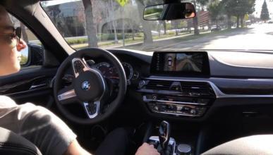 Vídeo: así aparca solo el BMW Serie 5 2017