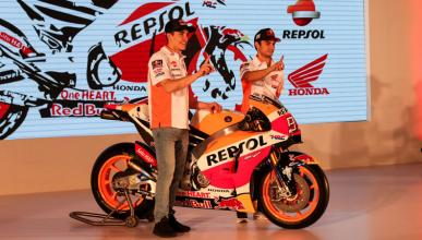 Presentación Repsol Honda 2017: rumbo a la triple corona