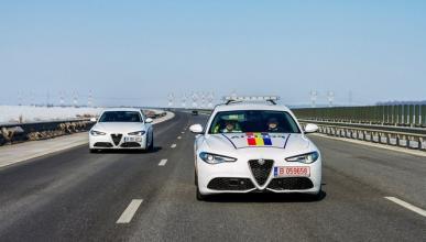 Un Alfa Romeo Giulia Veloce para la Policía de Rumania
