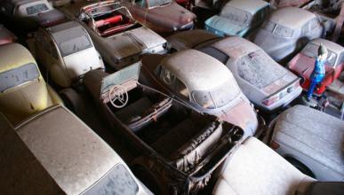 A subasta una colección privada de más de 700 vehículos