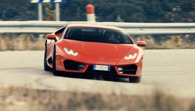 Vídeo: al volante de un Lamborghini Huracán LP580-2