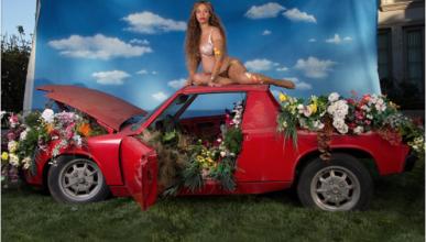 Beyoncé y un Porsche 914, la foto más exitosa de Instagram
