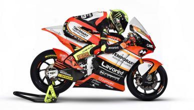 Moto2 2017: El Forward Racing presenta su proyecto en Milán