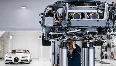 Así se fabrica el Bugatti Chiron