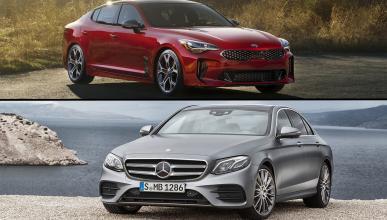 ¿Cuál es mejor, Kia Stinger o Mercedes Clase E 2017?