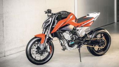 KTM 790 Duke: nuevas fotos espía con la moto casi acabada