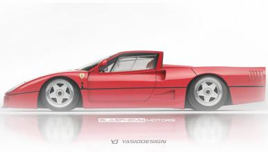 No sabemos qué opinar de este Ferrari F40 pick up
