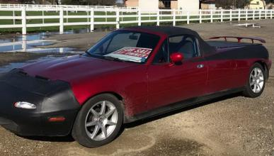 En venta un Mazda MX-5 pick-up, otro sacrilegio más...