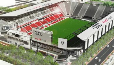 'Audi Field', así se llamara el nuevo estadio del DC United