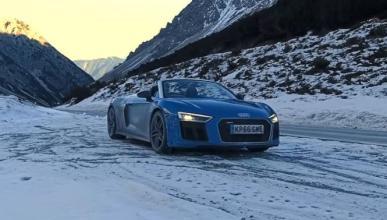 Vídeo: ¡enamórate! Los Alpes con un Audi R8 Spyder