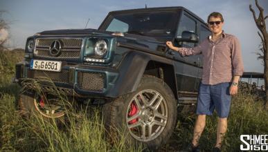 Vídeo: de safari con el Mercedes-Maybach G 650 Landaulet