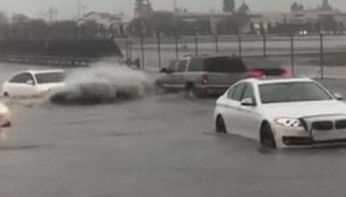 Vídeo: Un Audi A6 le gana la partida a tres BMW