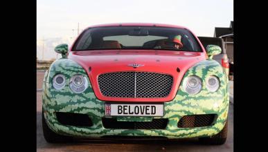 Bentley Continental GT sandía
