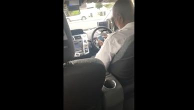El inaceptable comportamiento de una mujer en un taxi