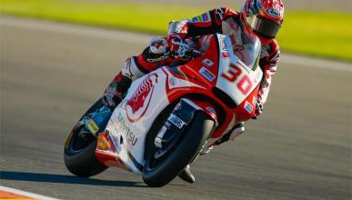 Nakagami viene a por faena en Moto2: el mejor en los test