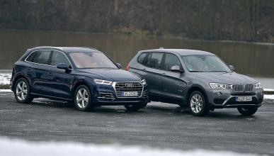 Comparativa: Audi Q5 (2017) vs BMW X3