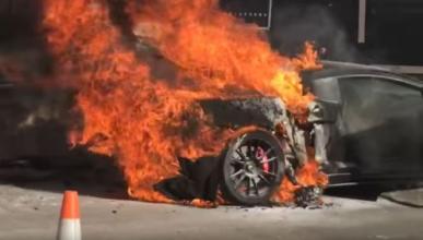 Vídeo: un Lamborghini Gallardo biturbo acaba en llamas