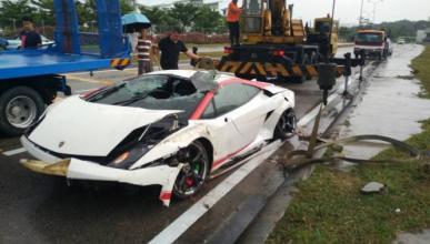 Vídeo: por esto no debes dejar un Lamborghini a un novato