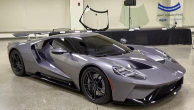 ¿Es este el Ford GT 2017 de producción?