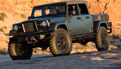 Jeep Wrangler 'pick-up': confirmada su llegada y ¿nombre?