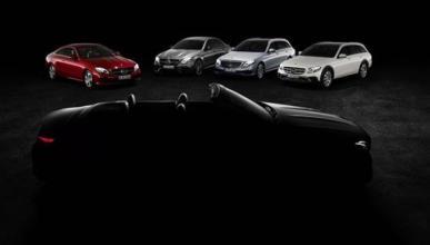 Nuevo 'teaser' del Mercedes Clase E Cabrio 2017