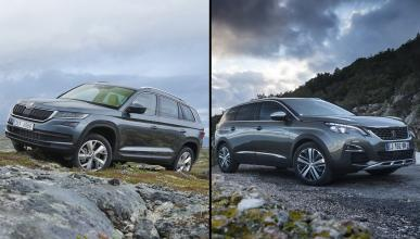¿Cuál es mejor, Peugeot 5008 2017 o Skoda Kodiaq?