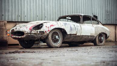 ¿Cuánto pagarías por lo que queda de este Jaguar E-Type?