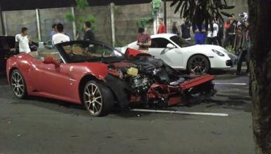 Por qué no debes dejar tu Ferrari California a nadie