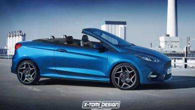 Así podría ser un Ford Fiesta ST Cabrio