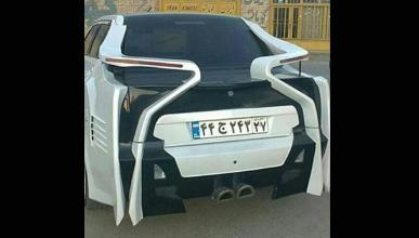 Está réplica de BMW i8 es lo más horripilante que verás hoy
