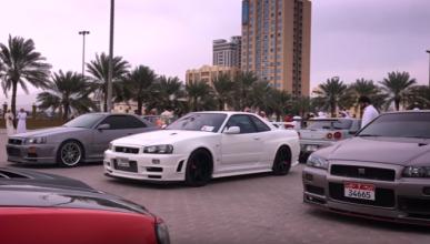 Vídeo: reunión de Nissan GT-R en Oriente Medio