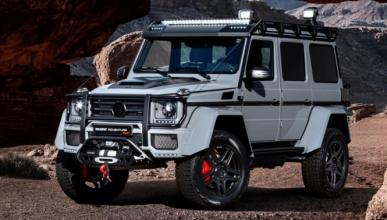 Brabus 550 Adventure 4×4²: 550 CV off-road en Ginebra