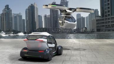 Pop.Up, Airbus presenta su prototipo de coche volador