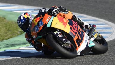 Test Moto2 Jerez 2017 (I): Oliveira y KTM avisan