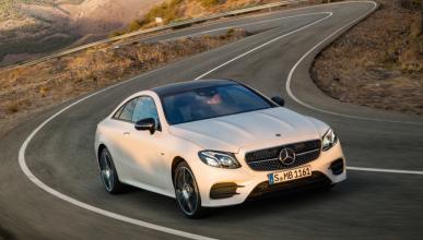 Prueba del Mercedes E 300 Coupé 2017: el primero en llegar