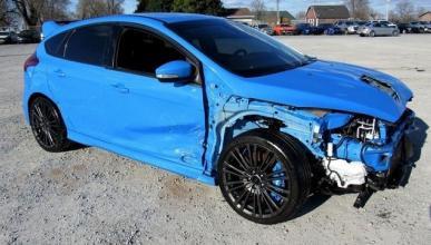 El Ford Focus RS es poco accesible hasta siniestrado