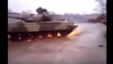 Drift con un tanque de 46 tonelada, estos rusos...