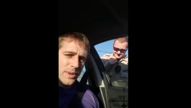 La lección de un conductor de Uber a cinco policías