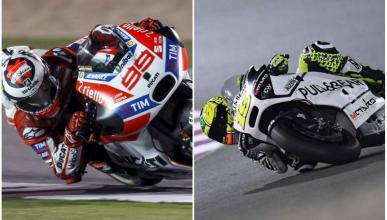 Lorenzo y Bautista baten el récord de velocidad de Qatar